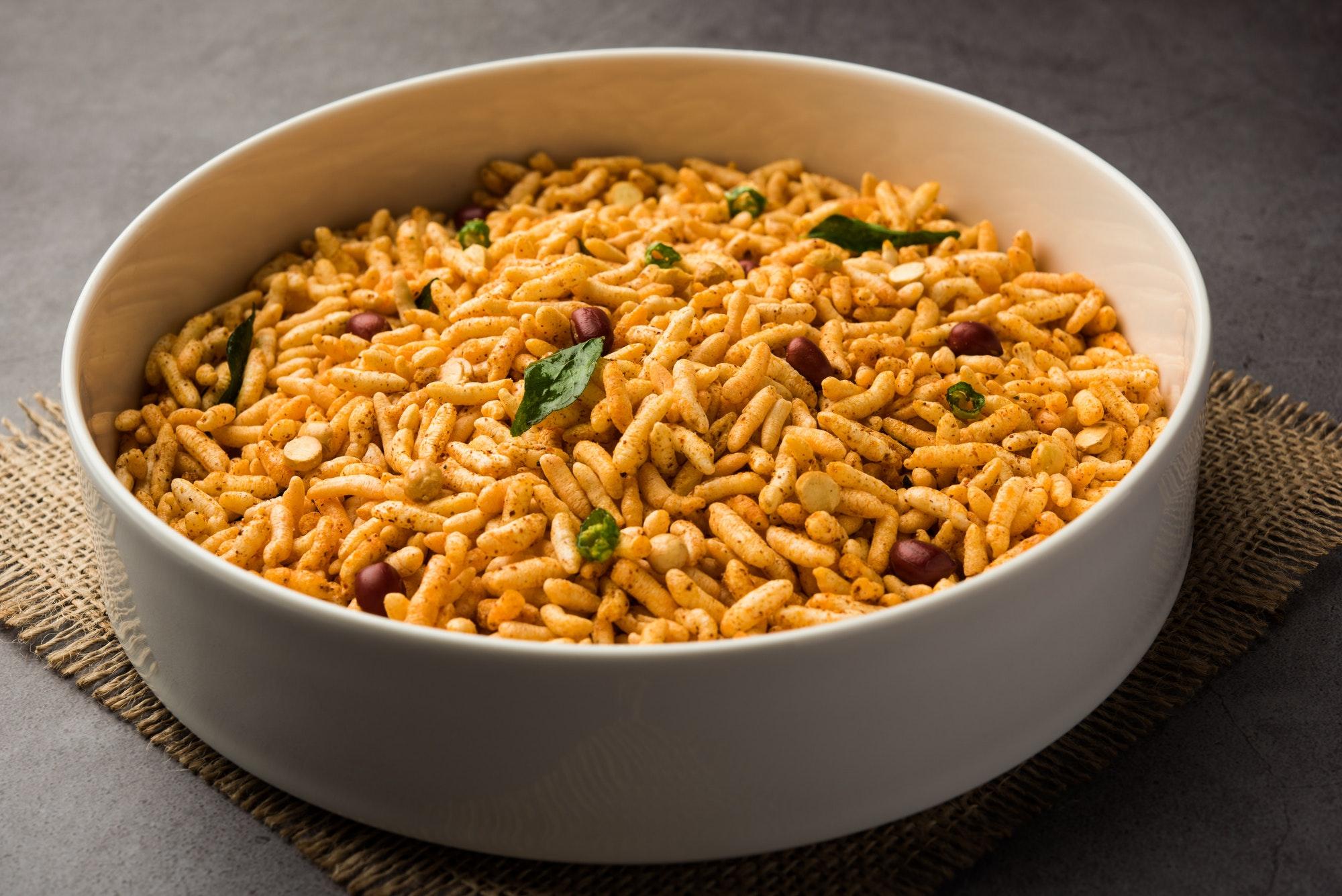 Puffed Rice Chivda